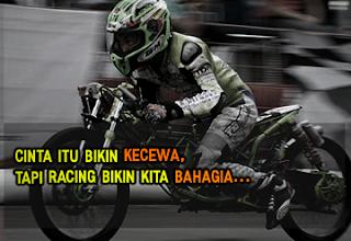 Gambar DP BBM Anak Racing Drag Balap Bergerak