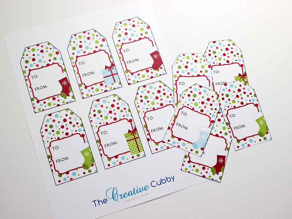 Free Printable Cubby Tags That Are Universal