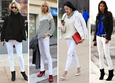 A Style For You Padu Padan Celana Jeans Putih Untuk Sehari Hari