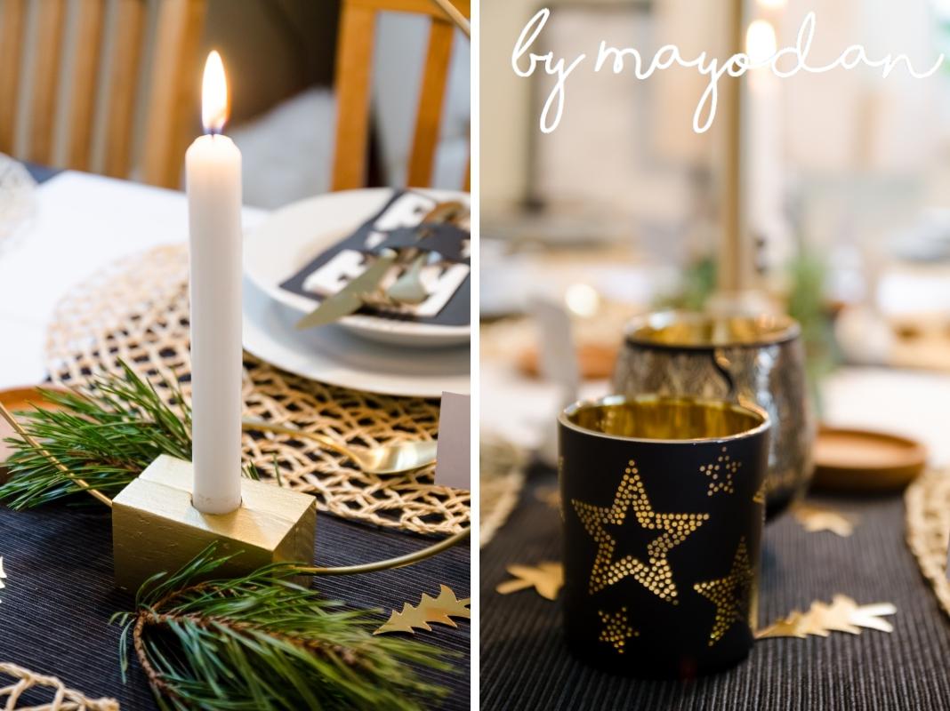 Tischdeko Weihnachten Winterlich Festliche Tischdeko Mit