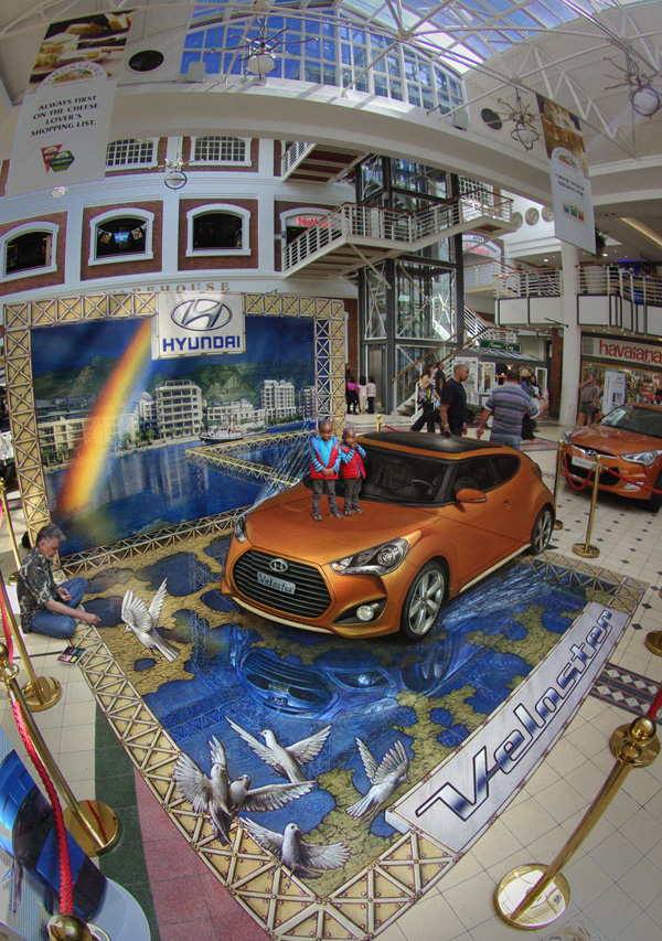 13-Cape-Town-Rainstorm-Kurt-Wenner-3D-Street-Pavement-Art-Painting-www-designstack-co