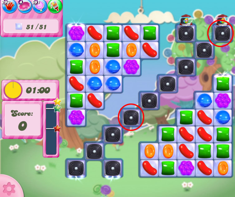 Candy Crush Saga level 2784