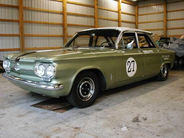 1964 Chevrolet Corvair Monza Race Car Auto Restorationice