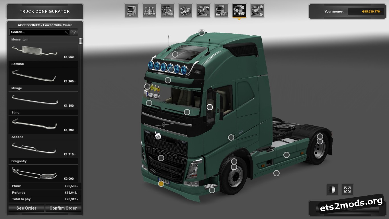 Edited Volvo FH12