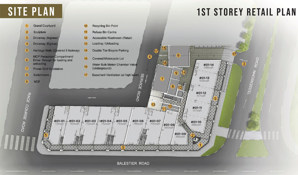 1953 Condo Commercial Site Plan