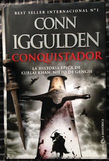 Portada del libro Conquistador, de Conn Iggulden