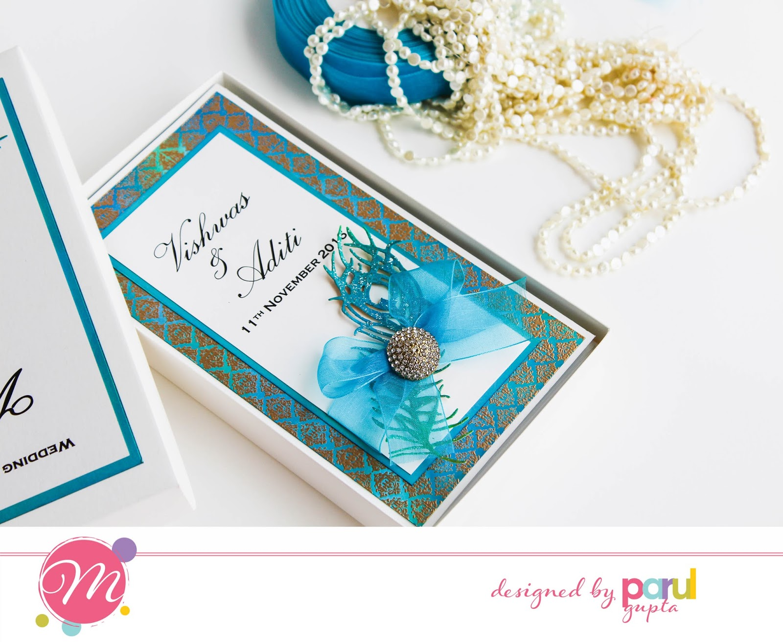 Mudra Craft Stamps: Wedding invitations with Mudra stamps + Tips ...