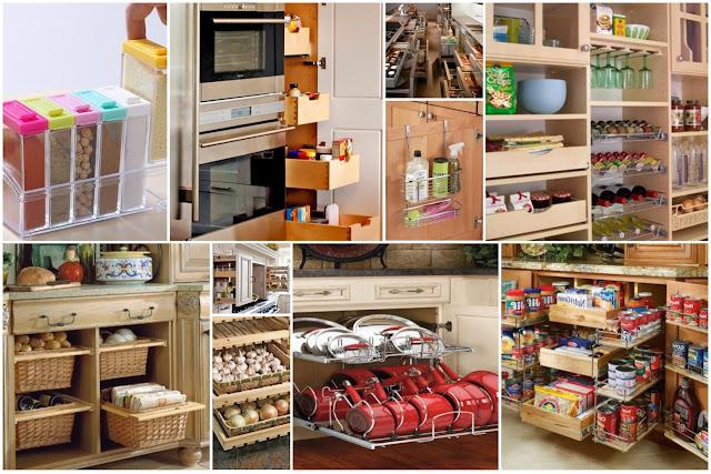 Creative Kitchenette Storage Decoration Ideas