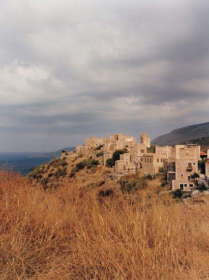 Vatheia Mani Peloponnese Greece Photo Condé Nast Traveler