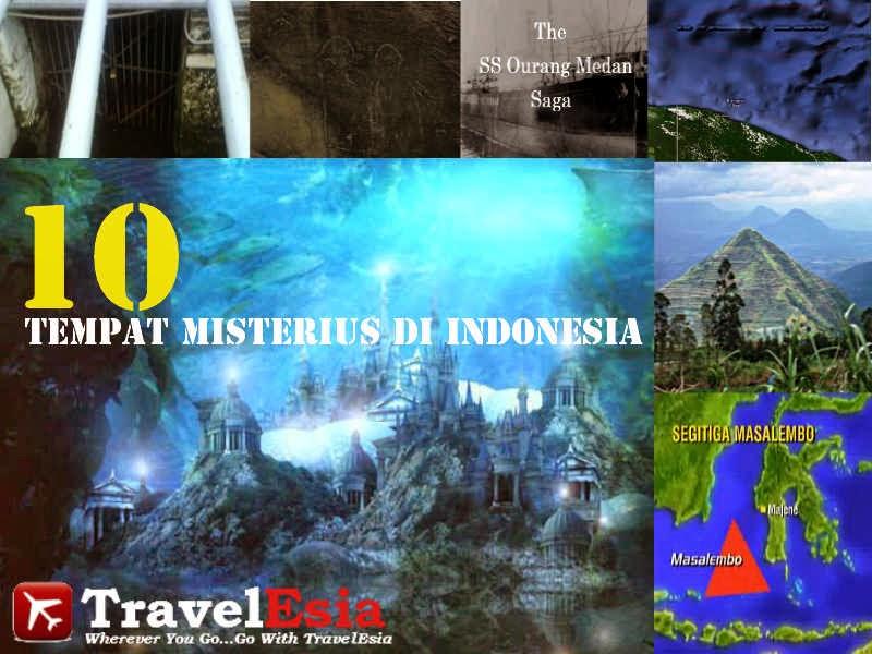 10 Tempat Misterius Di Indonesia