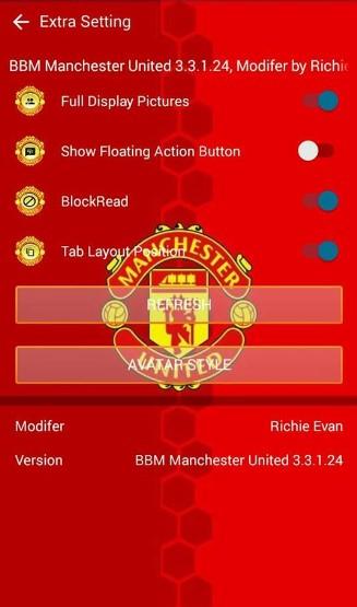BBM Manchester United (Mu) Terbaru 2017