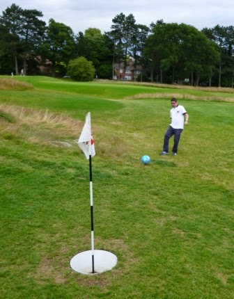 FootGolf at Stockwood Park in Luton, Bedfordshire