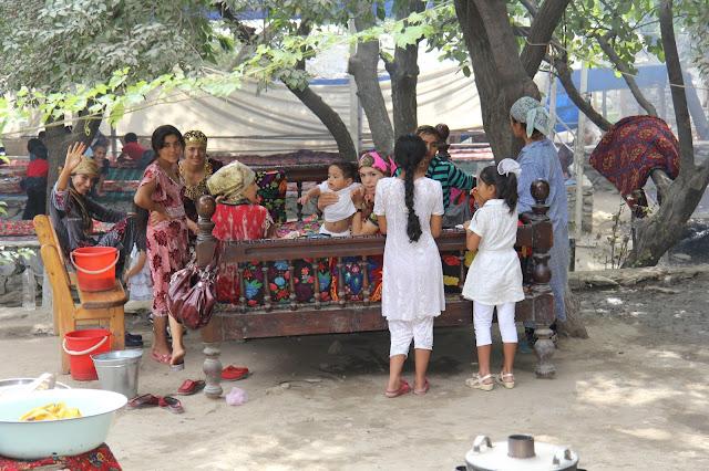 Ouzbékistan, Hazrat-Davoud, tapchanes, tapshans, © L. Gigout, 2012