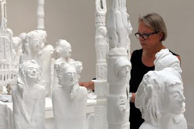 LE PETIT-QUEVILLY. L'artiste Odile Vigoureux propose une installation artistique à la chapelle Saint-Julien.