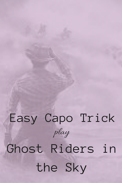 Ukulele Tricks: Easy Capo Trick - Play Ghost Riders in the Sky