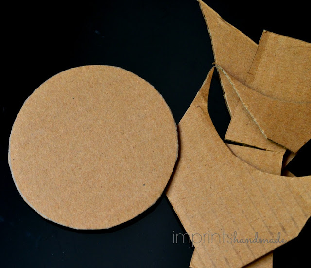 repurpose and reuse cardboard