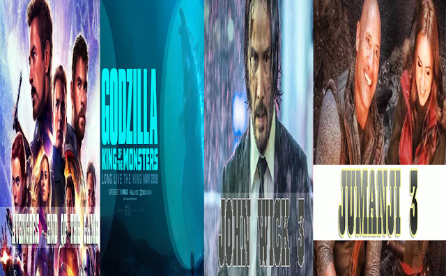 Avengers End Game Godzilla The Kinf of the Monsters John wick 3 Jumanji 3 on News Hungama