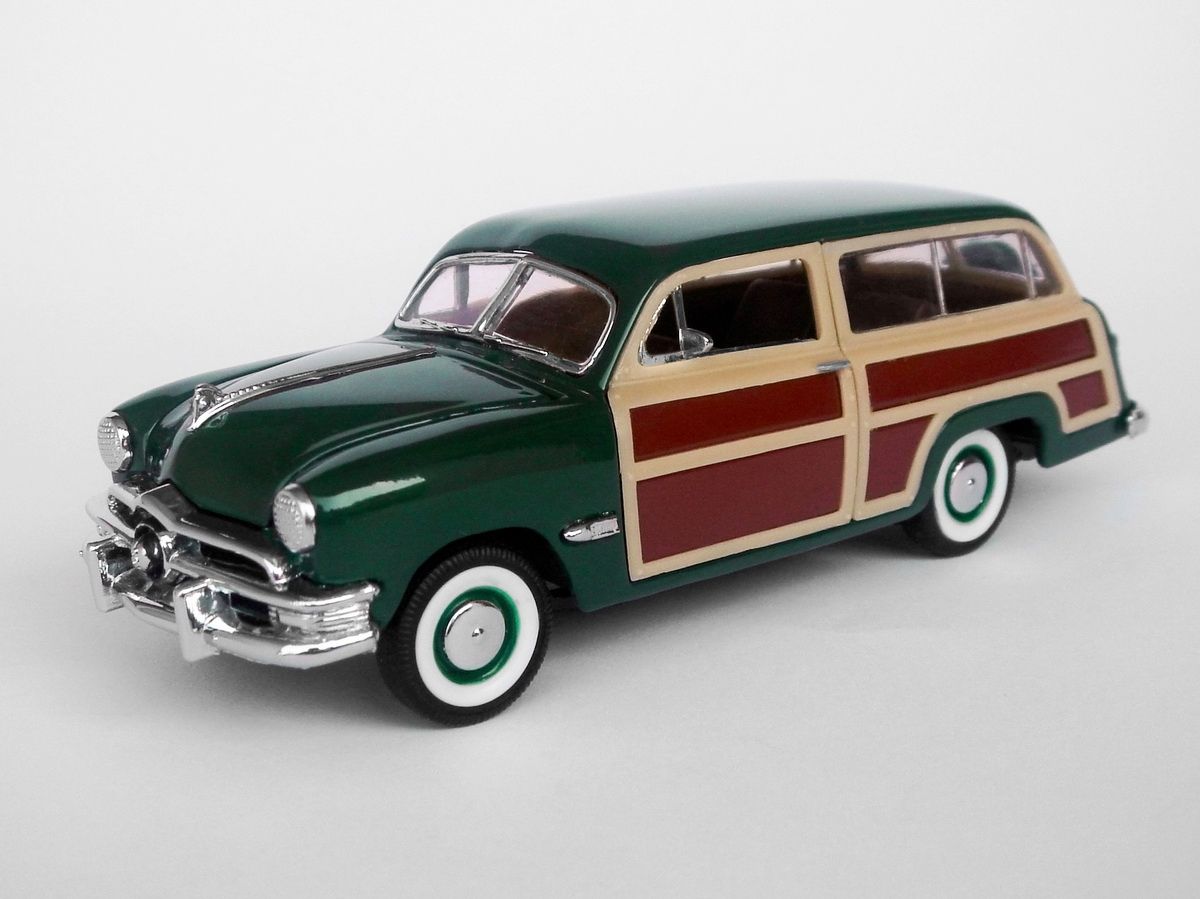 American Icons 1:43 Collection: 1950 Ford Woodie Wagon by ...