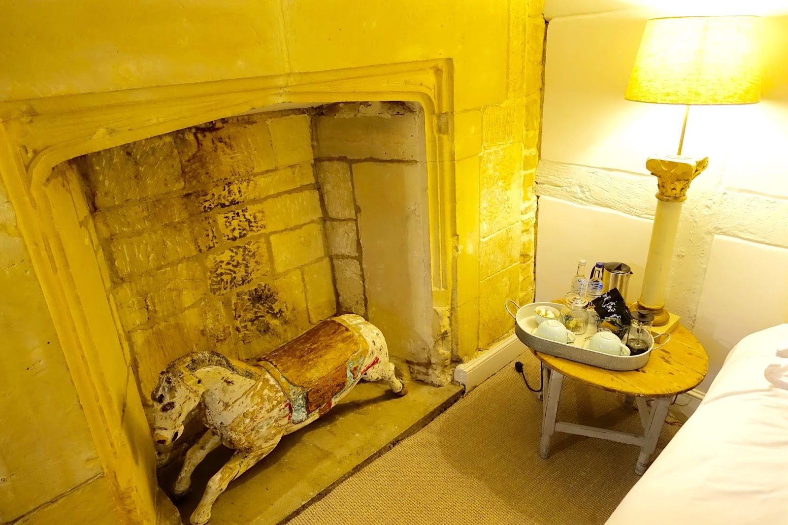 Superior room at the lion inn in winchcombe