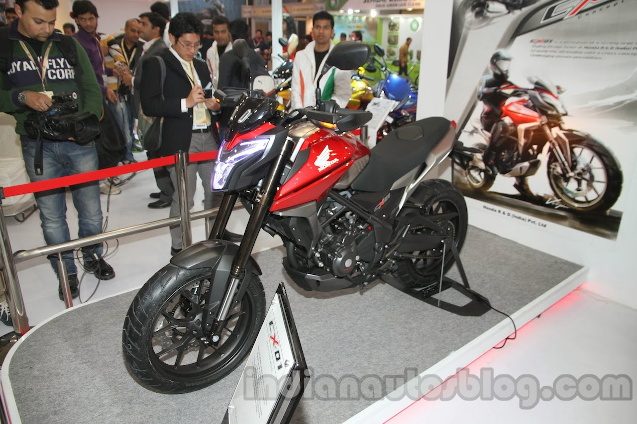 Honda CX-01 Concept 2015