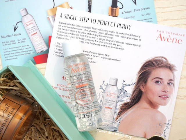 Avene Eau Thermale Micellar Lotion Abbott Sample
