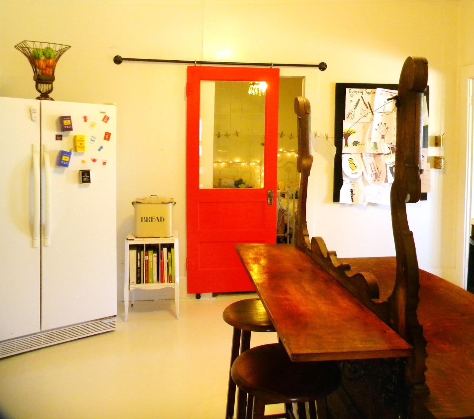 Building Sliding Barn Door Diy: Fig Milkshakes: DIY Sliding Barn Door
