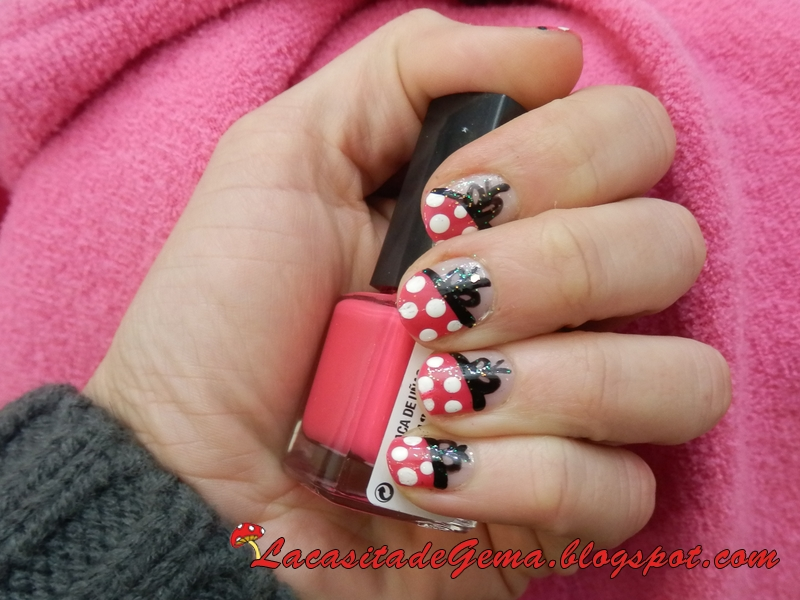 La Casita De Gema Tutorial Uñas Decoradas Nail Art En Vídeo Nº28