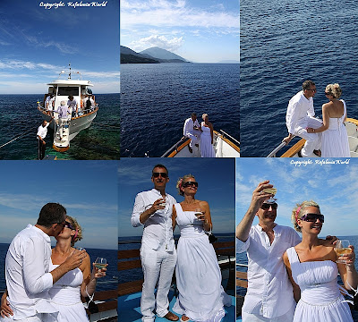 Kefalonia wedding celebration