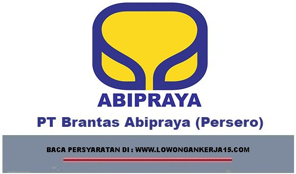 LOWONGAN KERJA BRANTAS ABIPRAYA