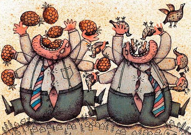 10 млрд $ «наварили» сверхбогатые в нищающей России