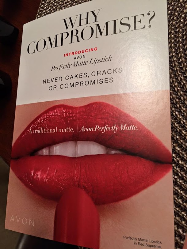 It does what it says. Never Cakes, Cracks or Compromise? Lipstick delivers a 100% matte look with lasting comfort.