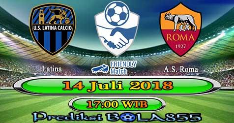 Prediksi Bola855 Latina vs AS Roma 14 Juli 2018