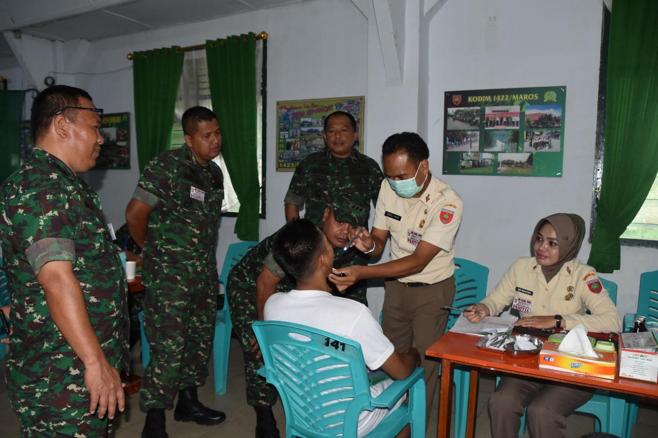 Korem 141/Tp Mulai Seleksi CATA PK TNI AD Sub Panda Bone