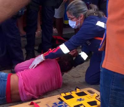 Sertão de Insegurança - Acusado é baleado em assalto a posto de combustível de Mombaça