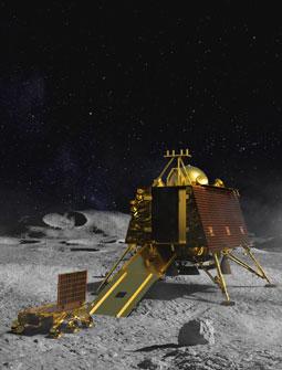 Indische Mondlandung
