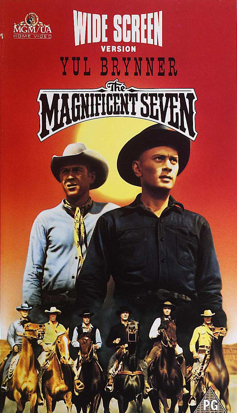 Geoff At The Movies: The Magnificent Seven (1960) and The ...
