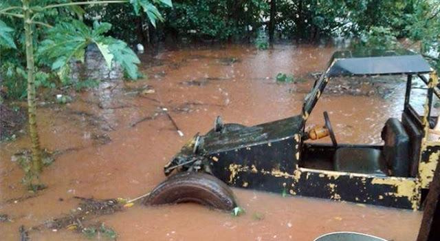 Nova Cantu: Rio Tonete volta a transbordar