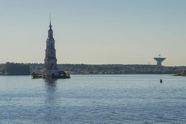 Волга в районе Калязина