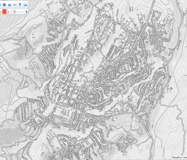Mapas Rol Mapa de ciudad a lapiz 3