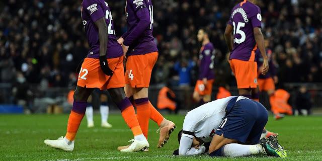 Dikalahkan Man City, Pelatih Tottenham Tetap Bangga