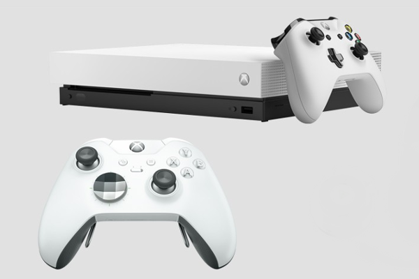 Microsoft unveils Xbox One X Robot White Special Edition Fallout 76 Bundle and Xbox Elite Wireless Controller - White Special Edition