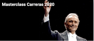 5th JOSÉ CARRERAS INTERNATIONAL SINGING MASTERCLASS - PESARO 2020