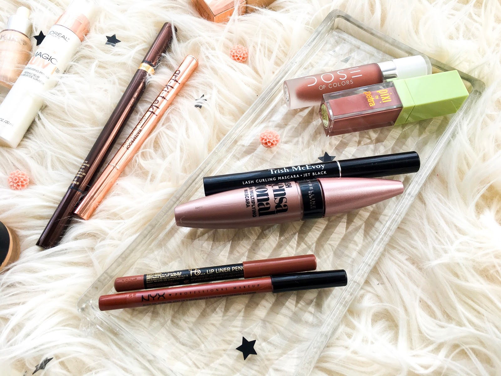 la splash artkitekt eyeliner vs tom ford eye defining pen, nyx intimidate lip liner vs primark toffee lip liner, maybelline lash sensational, trish mcevoy lash curling mascara, pixi mattelast liquid lipstick matte beige vs dose of colors truffle