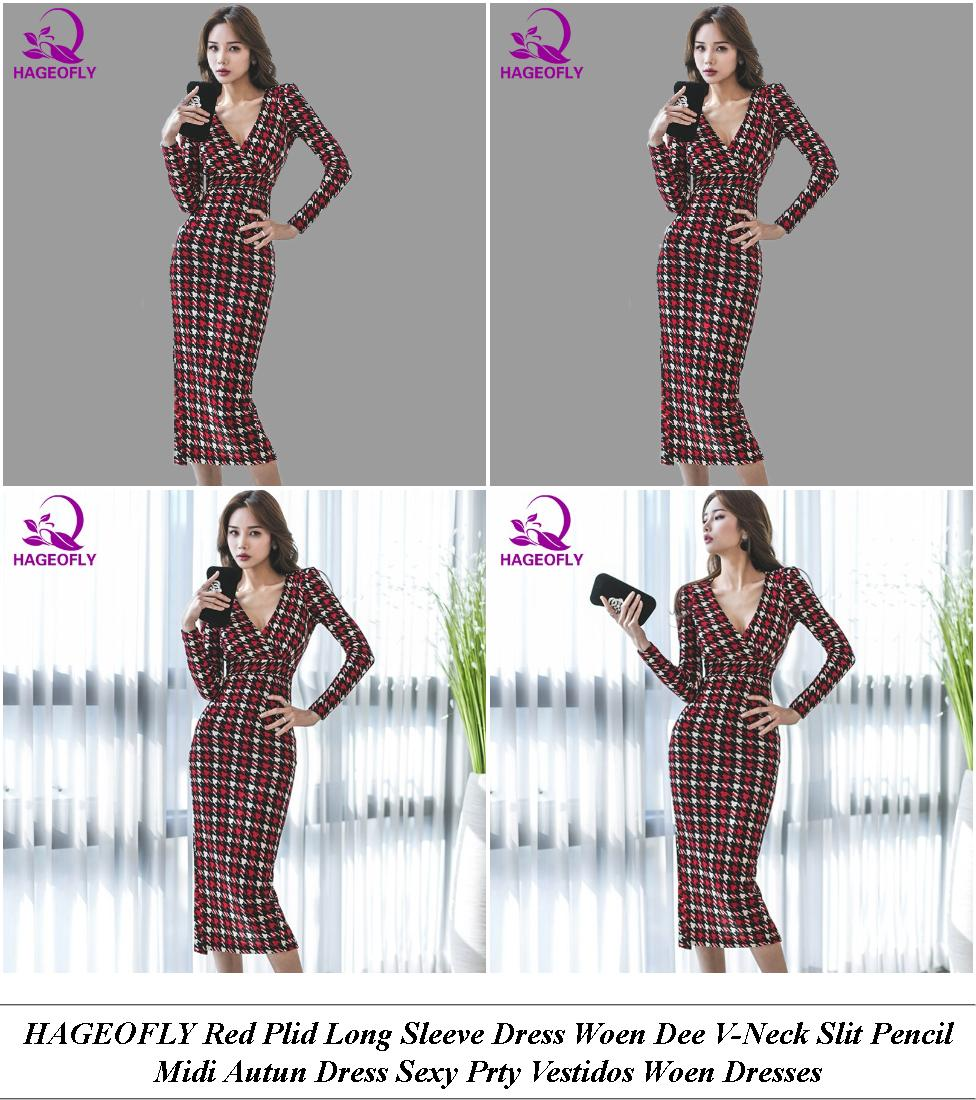Summer Day Dresses Casual - Fall Clearance Sale - Eige Tunic Dress Linen