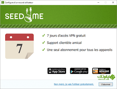 Seed4.Me VPN and Proxy IGOUTECH
