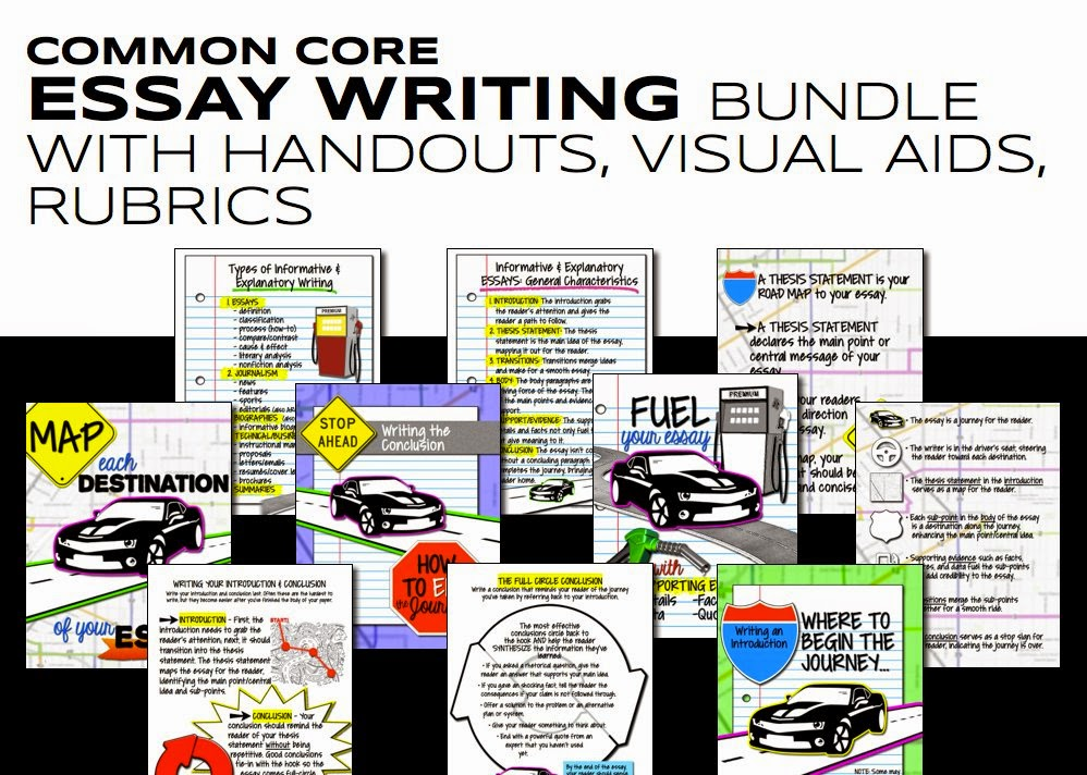 Common Core Essay Writing Materials