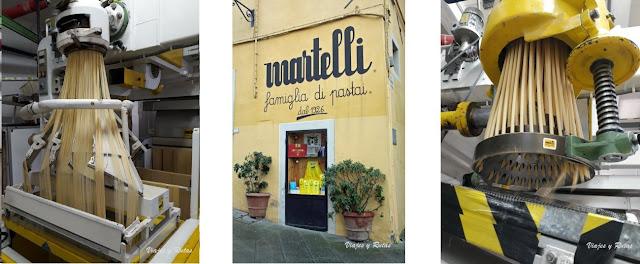 Pastificio Martelli, Lari