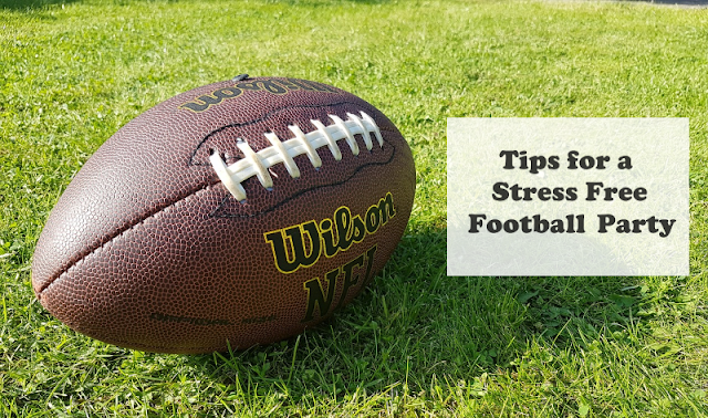 Tips for a Stress Free Football Party and delicious bean dip recipe