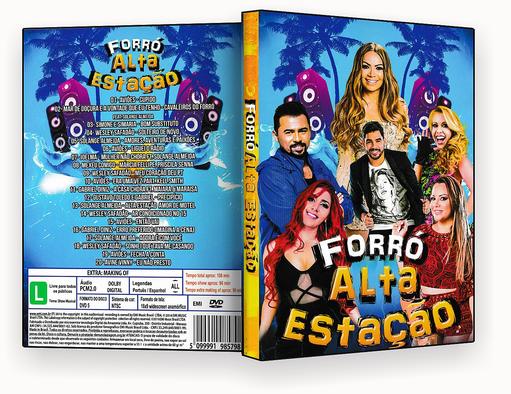 CAPA DVD – Forro Alta Estação – ISO