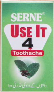 Use it 4 tooth liquid for toothache